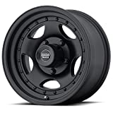 American Racing Custom Wheels AR23 Satin Black Wheel With Clearcoat (16x8''/6x139.7mm, 0mm offset)