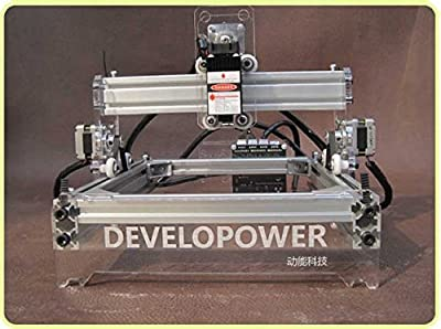 Premium Quality DIY Laser Engraving machine Laser Engraver Laser Cutter Desktop Laser Cutting Logo Picture Marking 1720cm 100mw