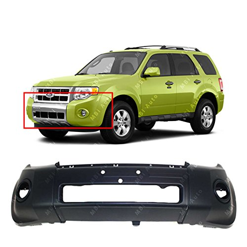 MBI AUTO - Primered, Front Bumper Cover Fascia Replacement for 2008-2012 Ford Escape 08-12, FO1000622 ()
