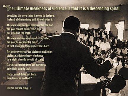 Martin Luther King Motivational Speech Poster Print