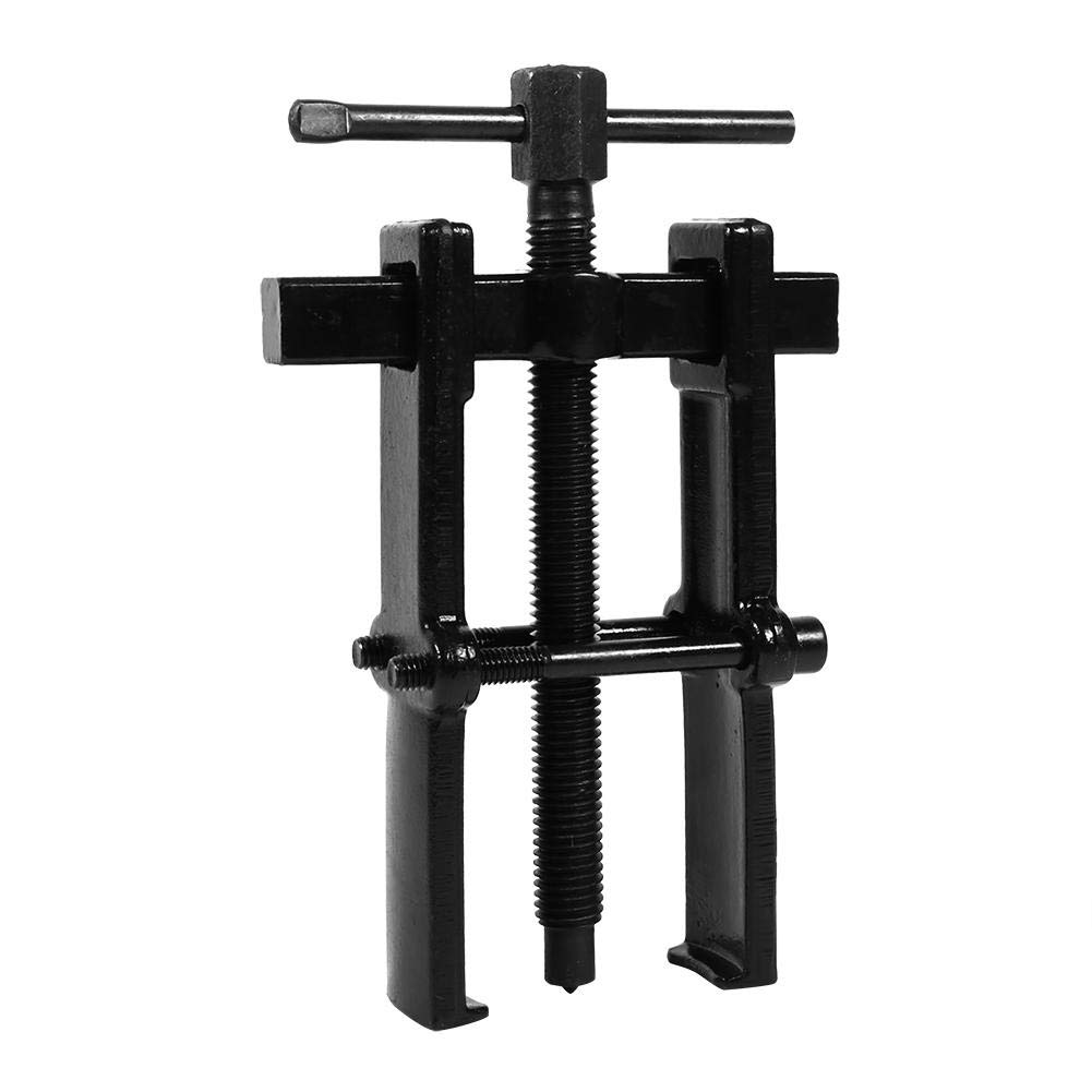 2.5 Adjustable Two Jaw Pilot Bearing Puller Tool Carbon Steel Pump Pulley Remover Straight Type