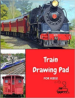 Buy Train Drawing Pad For Kids Draw And Color Engines Cabooses And