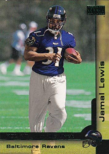 Baltimore Ravens 2000 Super Bowl - 2000 SkyBox Baltimore Ravens Super Bowl Champions Team Set with Jamal Lewis RC & Shannon Sharpe - 8 Cards