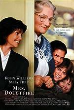 Filmcover Mrs. Doubtfire - Das stachelige Hausmädchen