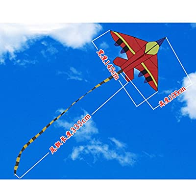 xiuersty Airplane Kites for Kids & Adults Childhood Precious Memories for Kid Outdoor Game,Activities,Beach Trip: Toys & Games
