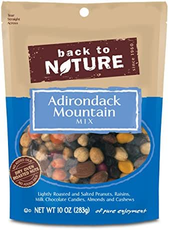 Back to Nature Trail Mix, Adirondack Mountain Blend, 10 Ounce (Packaging May Vary)