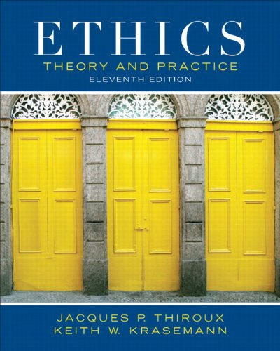 Ethics: Theory and Unpractised (11th Edition)