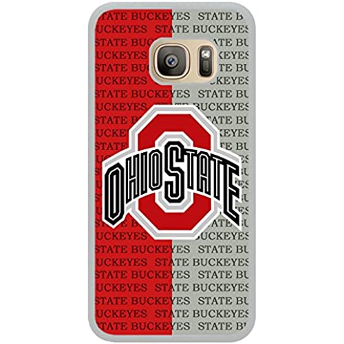 S7 TPU Protective Case with Ncaa Big Ten Conference Football Ohio State Buckeyes 2 White for Samsung Galaxy S7 White TPU Cover Sales