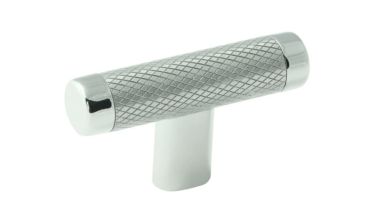 Amerock Bp36556-Pnss Tknob Esquire 2-5/8in Polished Nickel / Stainless Steel