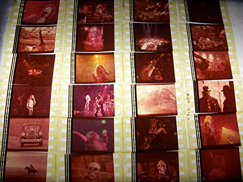 LED ZEPPELIN Lot of 12 35mm Movie Cinema Film Cells Compliments theater poster dvd