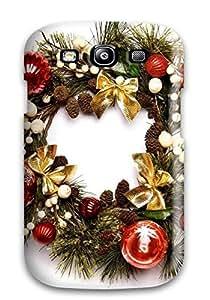 AnnaSanders Galaxy S3 Hybrid Tpu Case Cover Silicon Bumper Christmas Holiday Christmas