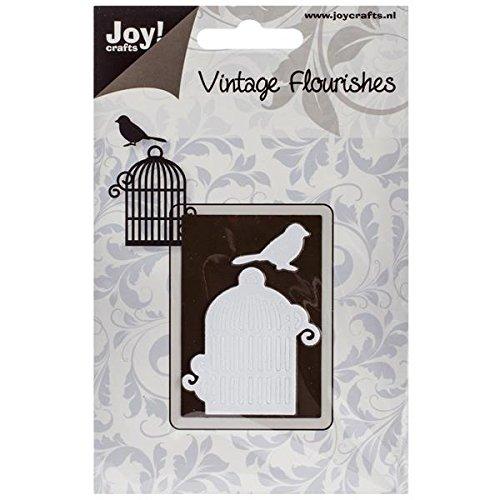 Ecstasy Crafts Joy! Crafts Cutting Die, Bird Cage, 1.25-Inch by 1.875-Inch