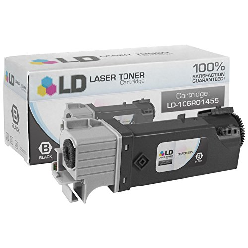 Xerox Replacement Parts - LD Compatible Replacement for Xerox 106R01455 Black Laser Toner Cartridge for use in Xerox Phaser 6128MFP, and 6128MFP/N Printers