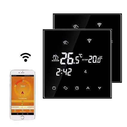 Beok TGT70WIFI-EP Termostato Digital Programable Para Calefacción Eléctrica Debajo Del Piso, Control De La Temperatura De La Habitación Con ...