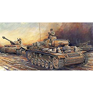 Amazon com: 1/35 World War II German Army Panzer III N-type