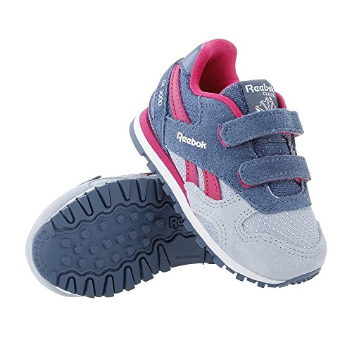 Reebok GL 3000 TD SP, Sneakers Bimba, Grigio (Gable Grey/Brave Blue/Pink Craze/White), 23.5 EU