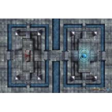 Battlefront Miniature D and D Sanctuary of Fate Vinyl Game Map