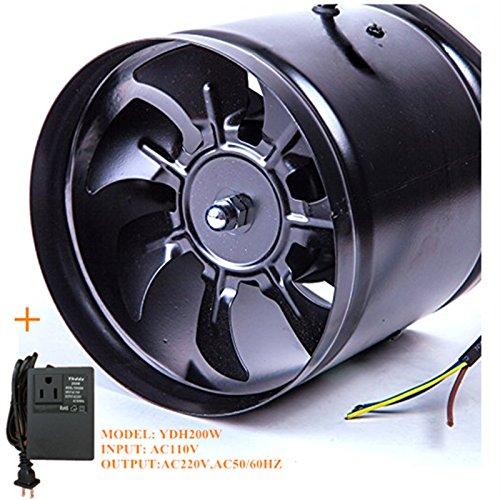 7 inch inline duct fan - 5