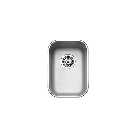 Teka 10125003 - Fregadero bajo encimera de una cubeta en 45 cm
