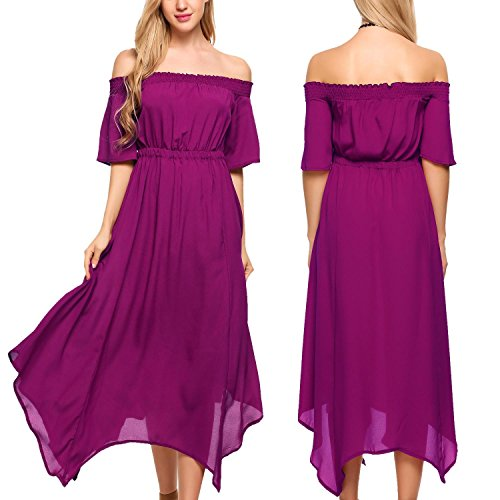 Beautiful Strapless Long Dress - 4