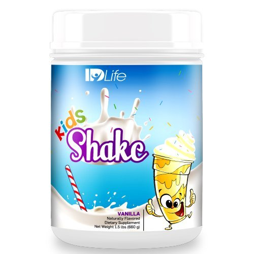 IDLife Kids Healthy Breakfast Protein Shake, 30 Servings  - Vanilla (Idlife Shake Replacement Meal)