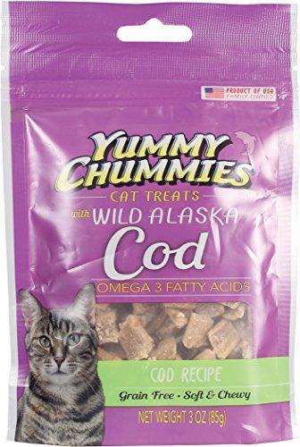 Yummy Chummies Grain Free Wild Alaska Halibut Cat Treats