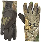 Under Armour Men's Scent Control 2.0 Hunting Gloves, Realtree Ap-Xtra (946)/Black, X-Large