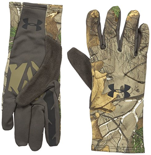Under Armour Men's Scent Control 2.0 Hunting Gloves, Realtree Ap-Xtra (946)/Black, X-Large by Under Armour