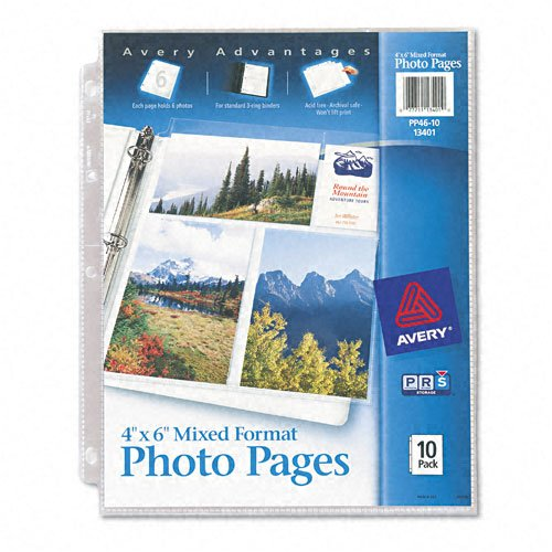 Avery Format Photos 3 Hole Punched