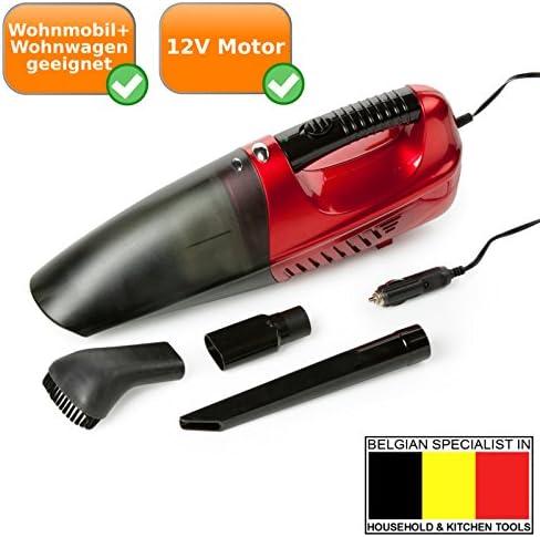 Aspiradora de mano con conector de 12 V, ideal para caravanas + ...
