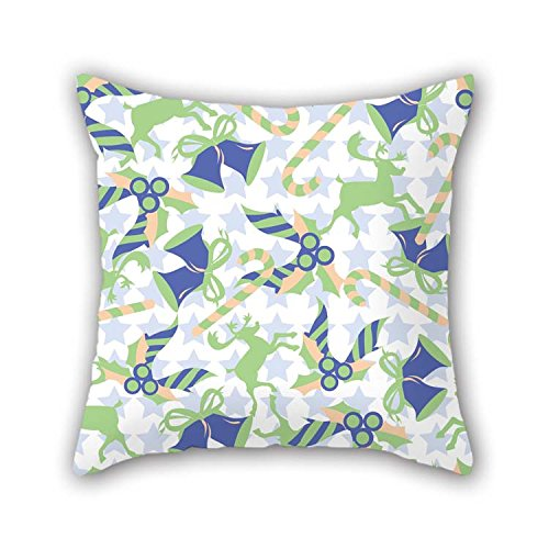 Throw Cushion Covers Of Colorful Geometry 16 X 16 Inches / 40 By 40 Cm Best Fit For Husband Family Valentine Son Lover Teens Boys Both Sides