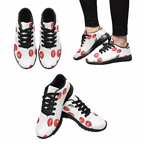 Scarpe Da Corsa Da Donna Running Running Jogging Leggero Easy Go Comfort Da Running Scarpe Da Corsa Modello Ciliegia Multi 1