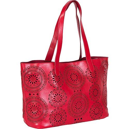 Buco FL-008 Femmes Rouge Sac shopping