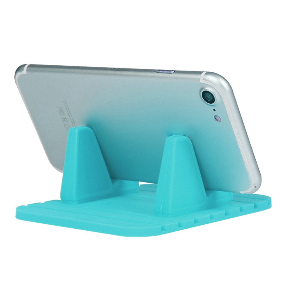 Orcbee  _Car Silicone Dash Pad Mat Anti-Slip Phone Bracket Desktop Holder for Smartphones (Mint Green) by 💗 Orcbee 💗 _Cell Phone Accessories (Image #1)