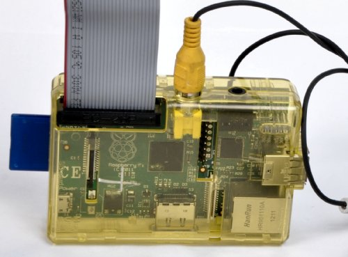 SB Raspberry Pi Case (Clear Yellow) ()