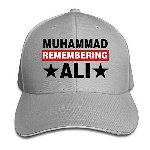 The Greatest Boxing Legend Ali Washed Twill Sandwich Bill Cap