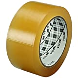 Ship Now Supply SNT967764C6PK 3M 764 Vinyl Tape, 5.0 Mil, 2'' x 36 yd., Clear (Pack of 6)