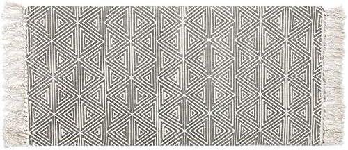 UArtlines - Alfombra de algodón con borlas Estampadas a Mano ...