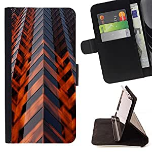 Momo Phone Case / Flip Funda de Cuero Case Cover - Arquitectura Ingeniería Rascacielos - Sony Xperia M2