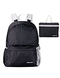 Travel Backpack: MOSSLIAN Handy Ultra Lightweight Packable Foldable Outdoor Backpack Daypack