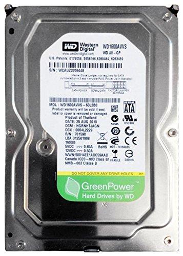 WD1600AVVS Western Digital 160gb 7200rpm Sata-300 8mb Cache 3.5inch H