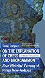img - for On the Explanation of Chess and Backgammon book / textbook / text book
