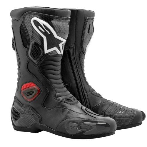 222309 10 41 - Alpinestars S-MX 5 Motorcycle Boots 41 Black (UK 7)