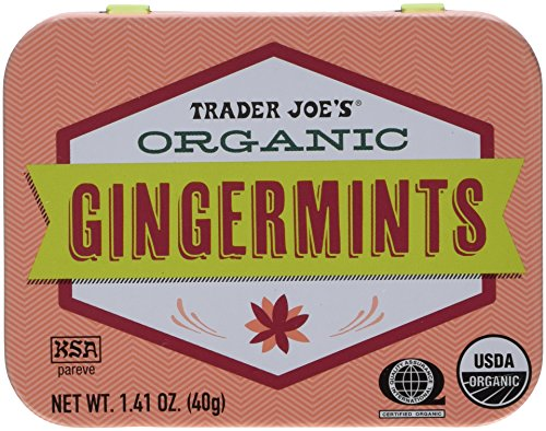 Trader Joes Organic Gingermints Mints