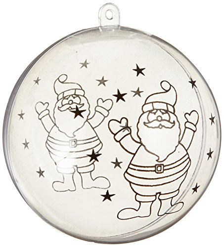 Naice Christmas Ornament Plastic Fillable product image