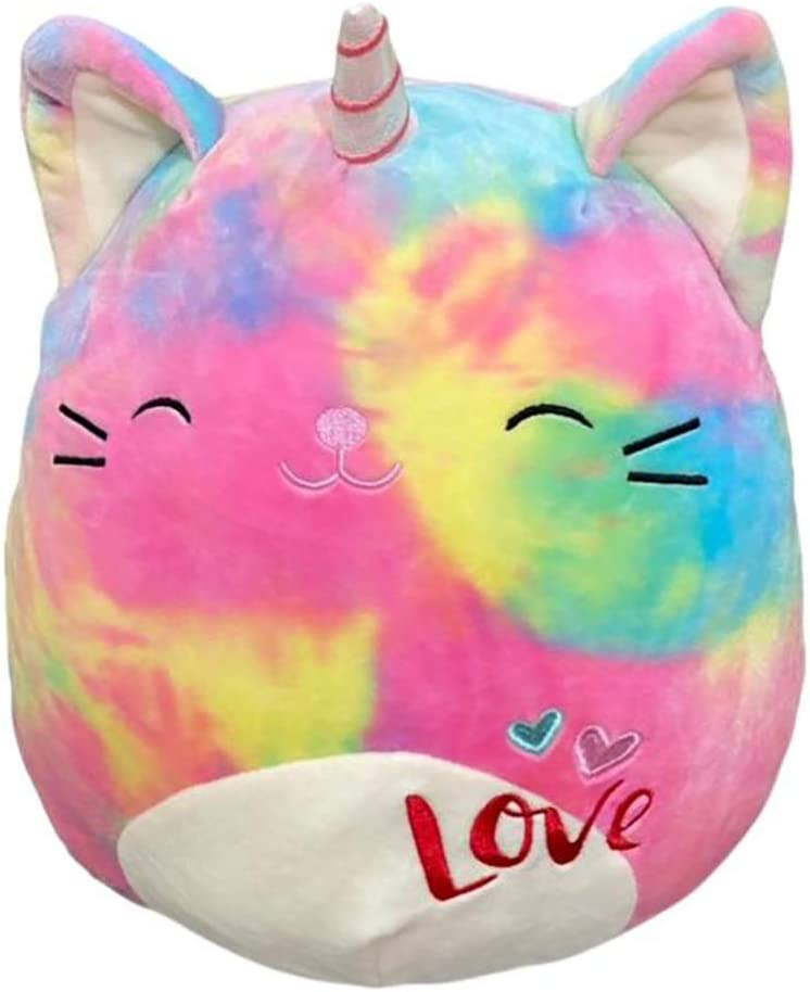 Squishmallows Valentines Squad Cali The Caticorn Plush Toy 11 inches