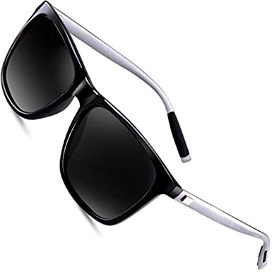78c8ec85377 wearPro Sunglasses Mens Retro Vintage Polarized Sun Glasses WP1003 (black