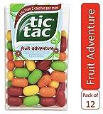 Tic Tac Mints, Fruit Adventure, 1 oz Singles, 12 Count