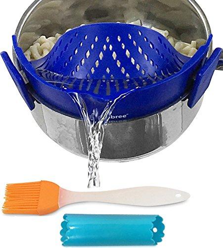 strainer spaghetti colander Salbree Blue