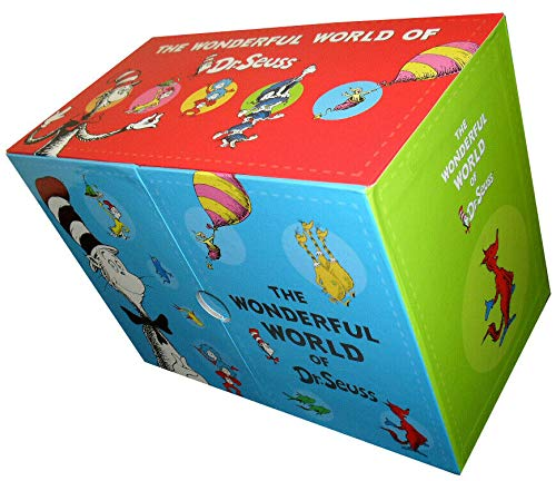 Wonderful World of Dr Seuss Collection 20 Books Box Set (Dr Seuss on the Loose!,Hunches in Bunches,If I Ran The Zoo,The Sneetches and Other Stories,If I Ran The -